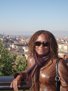 Ahhh... living La Dolce Vita in Florence, Italy's Piazzale Michelangelo.