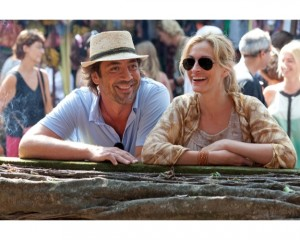 "Julia Roberts' character Liz laughs it up with Javier Bardem in Bali in ""Eat Pray Love."" But why is there never a sistergirl starring in one of these American-woman-reinvents-herself-abroad cinema tales?"