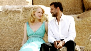 Imagine hanging out in Cairo with THIS beautiful man (Sudanese-born actor Alexander Siddig, who plays Tareq) at your side. I'd never want to go home!