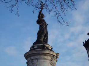 This majestic statue, named after the French Republic, is one of my favorites in Paris. It stands in Place de la République, near many of the apartments I've rented during stays in the City of Light.